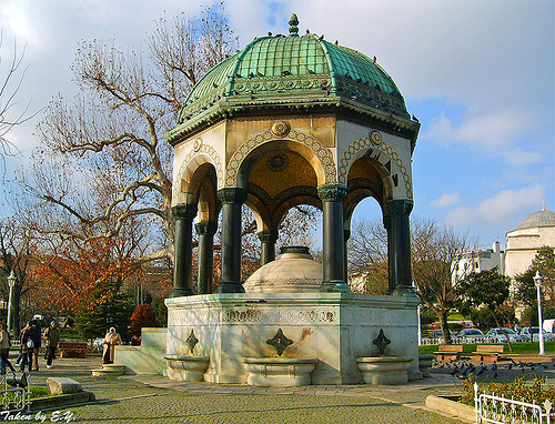 La Fontaine Allemand l'hippodrome Istanbul