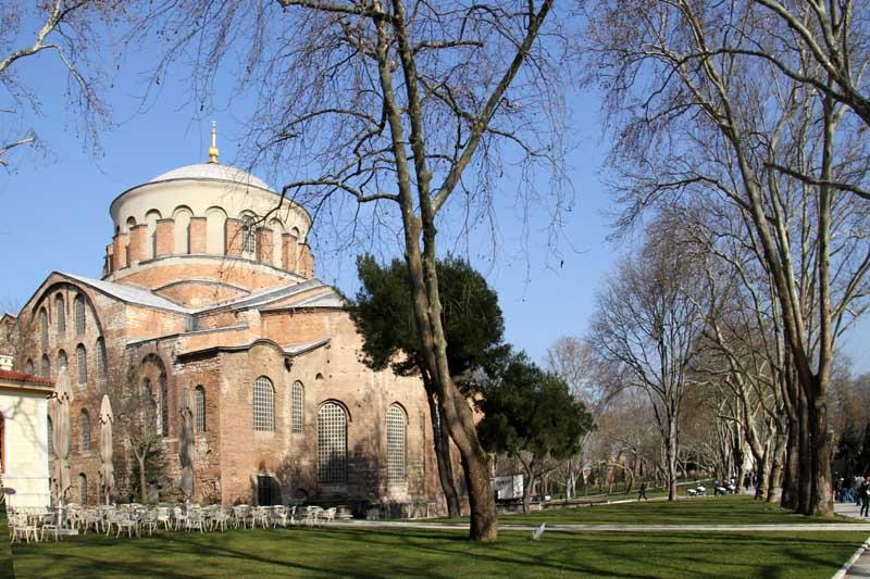 l'église Sainte-Irène le Palais De Topkapi Istanbul