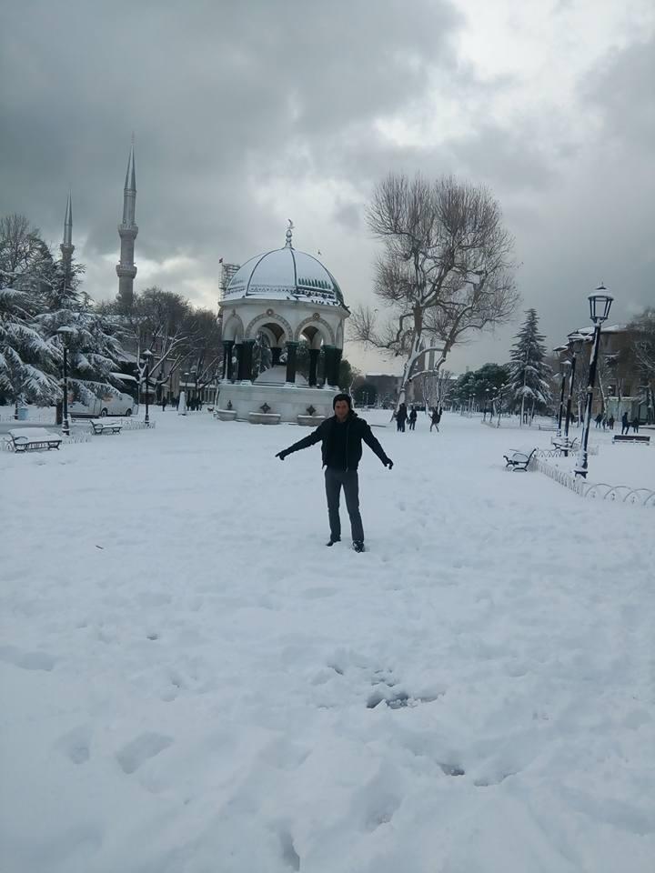 La fontaine de l'Hippodrome de la part de Hakim Atmaoui