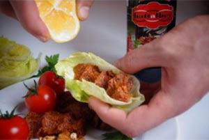 Un délice De çiğköfte à istanbul - cuisine turque cigkofte