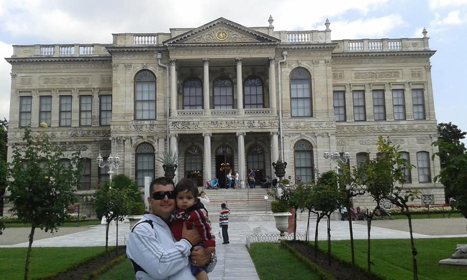 De la part de Djafer Djafer le Palais de Dolmabahçe