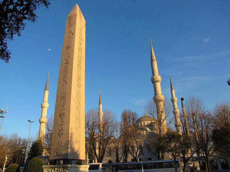 l'obélisque de Théodose de l'Hippodrome Istanbul