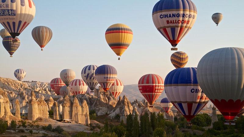 Montgolfière En Cappadoce en Turquie