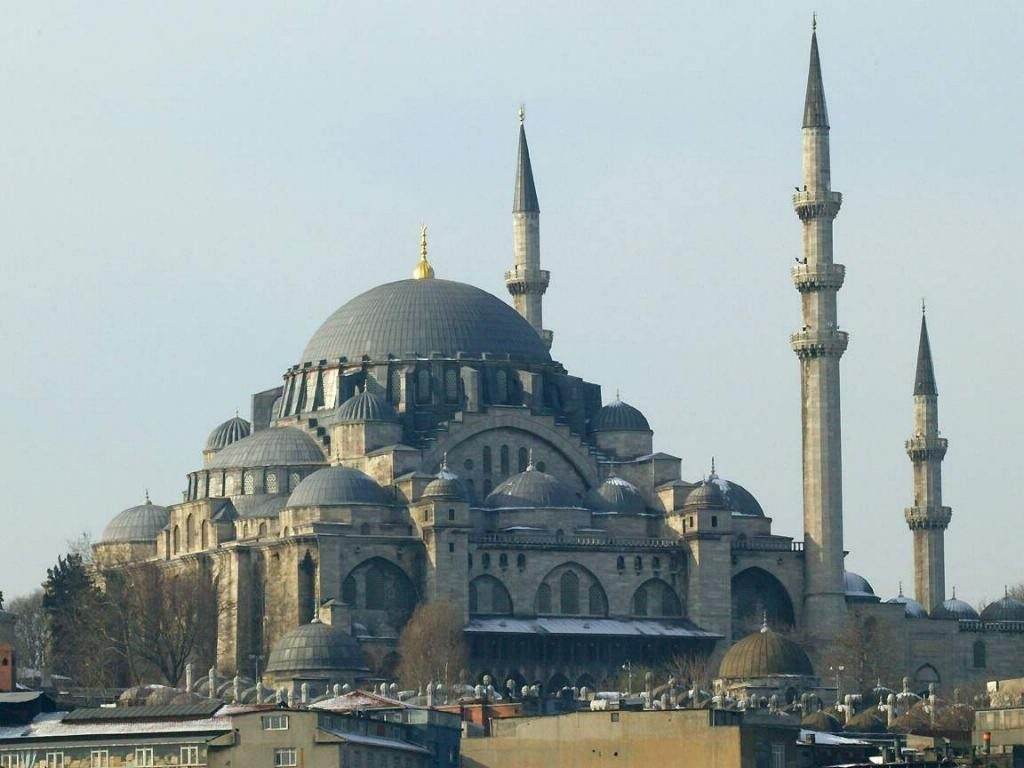 la mosquée de soliman le magnifique.