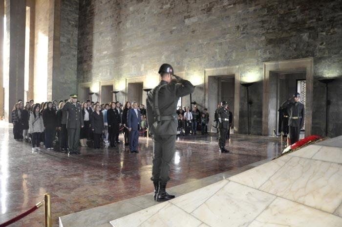 Le Mausolée d'Ataturk