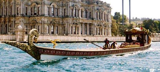 Les Bateaux Des Sultan à la corne d'or Istanbul