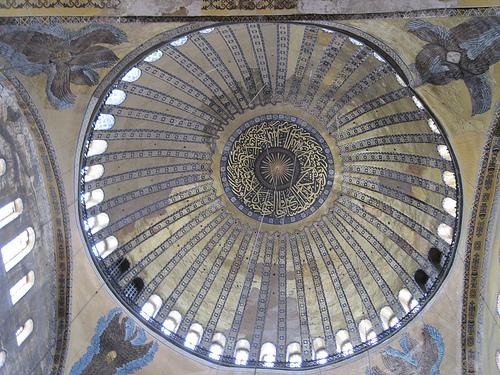 La Coupole de la Basilique Sainte Sophie à Istanbul