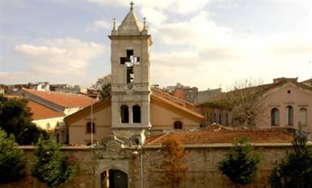 L'église arménienne Kumkapi, Istanbul