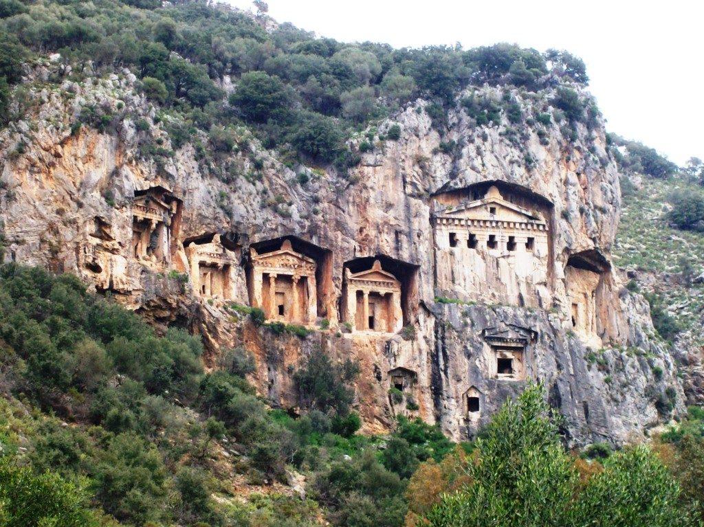 Les tombeaux de rois dalyan