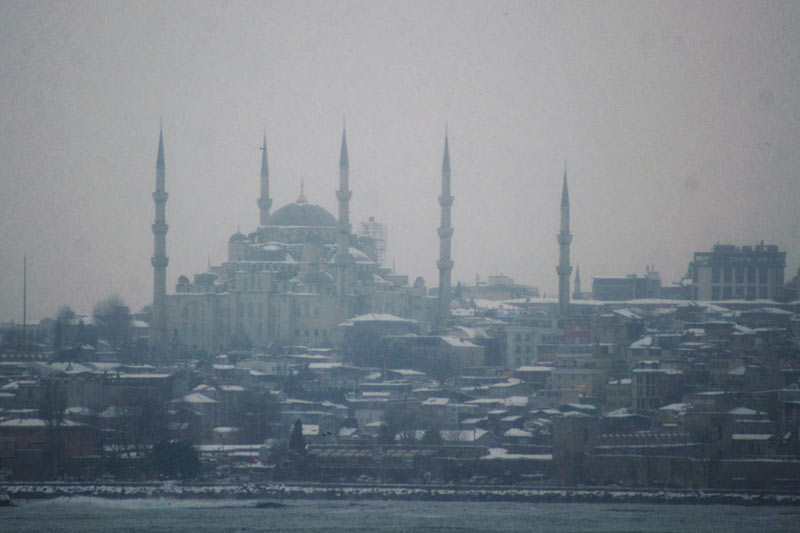 Photos d'Istanbul La Mosquée Bleue