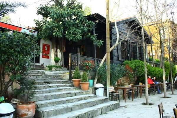 Le Café Pierre Loti à la corne d'or, Istanbul