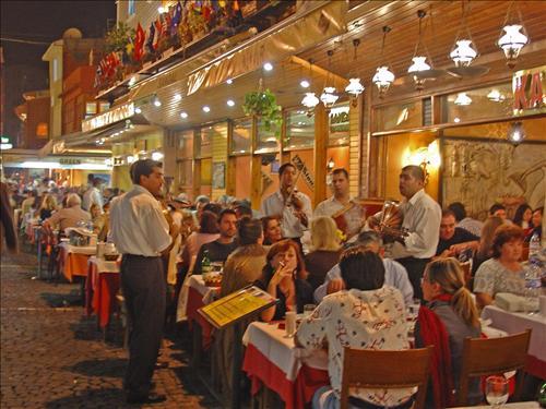 les restaurants à kumkapi