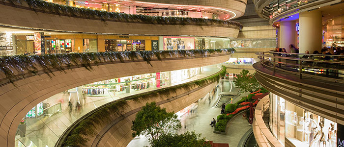 Le Centre Commercial Kanyon levent Istanbul