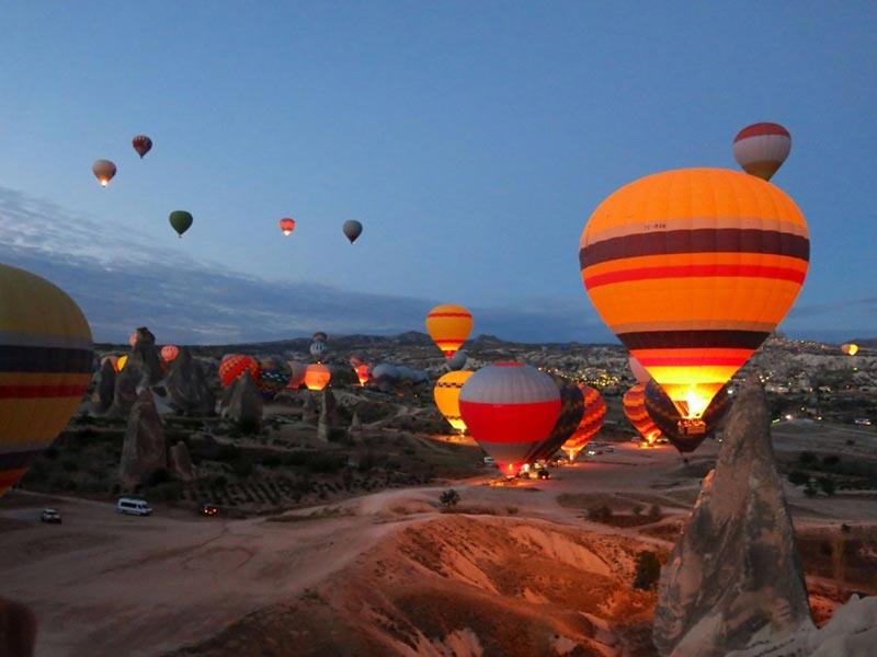 Le Vol en Montgolfiere la Cappadoce