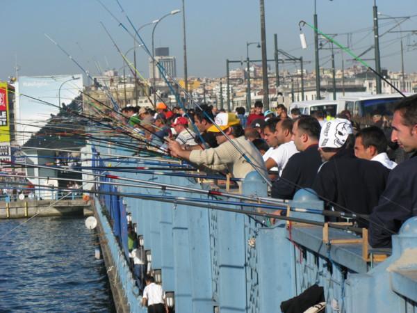 les pécheurs du pont Istanbul