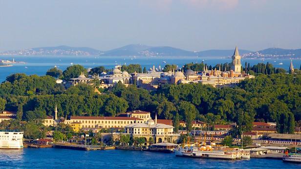 Le Palais De Topkapi Istanbul, La promenade sur le Bosphore