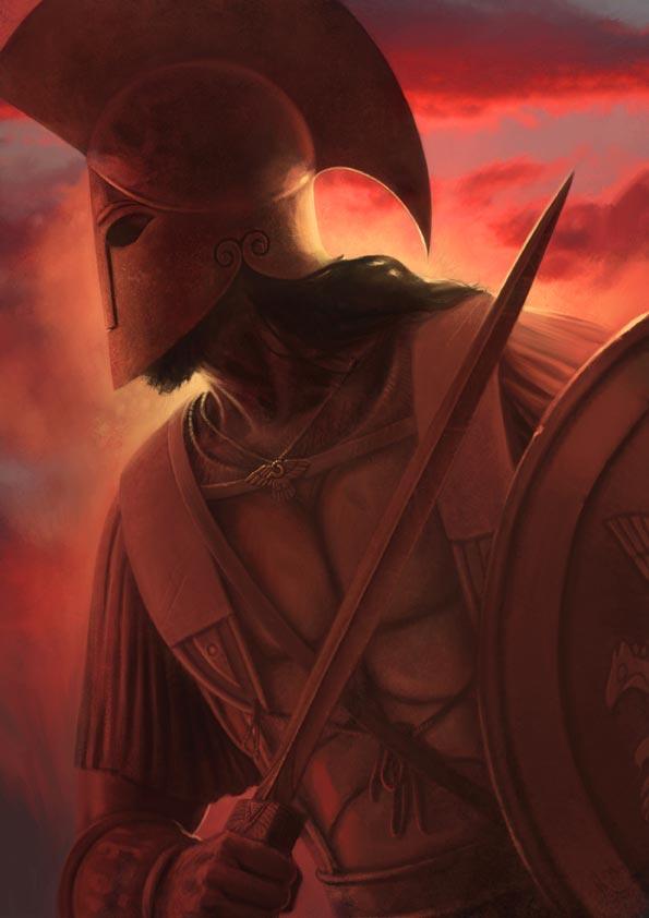 Le Dieu Ares, le Cheval de Troie