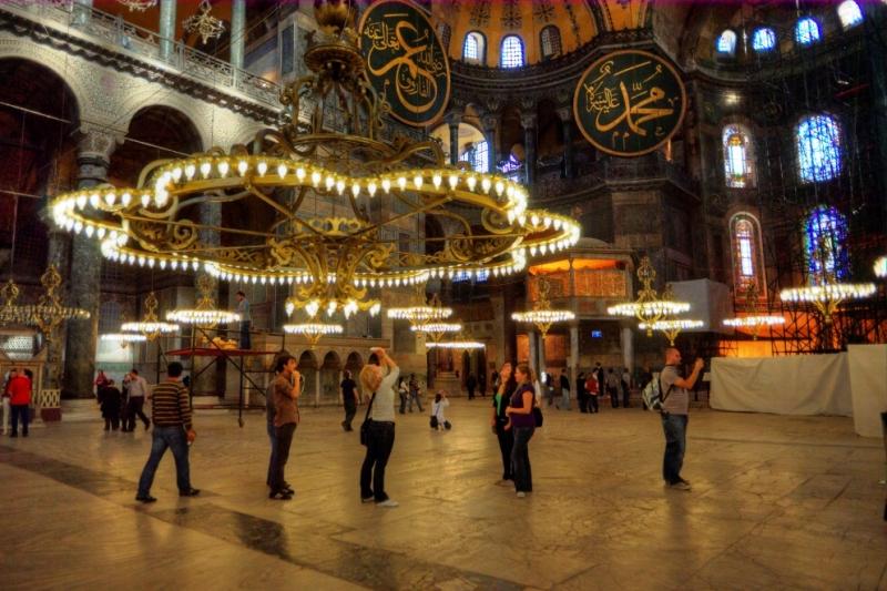 La Basilique Sainte Sophie à Istanbul