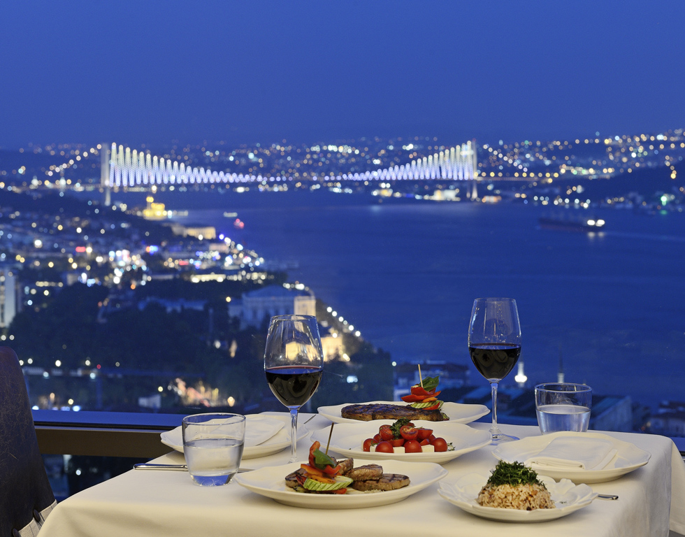 Les restaurants d'Istanbul