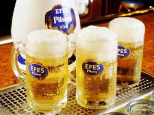 Efes, la bière turque, Istanbul