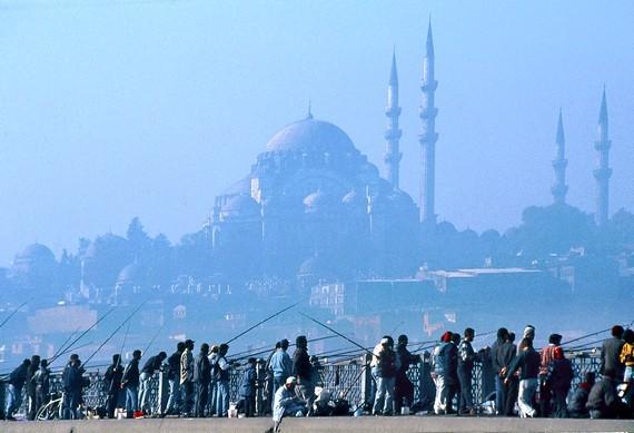 Les pécheurs de Galata Istanbul