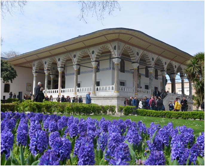 la salle d'audience palais de topkapi