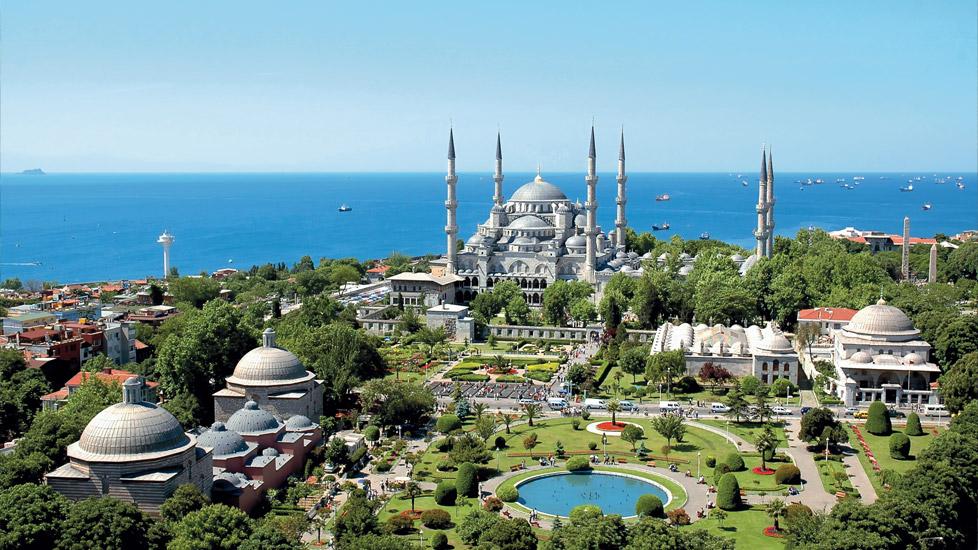 monuments à visiter à istanbul, mosquée bleue.