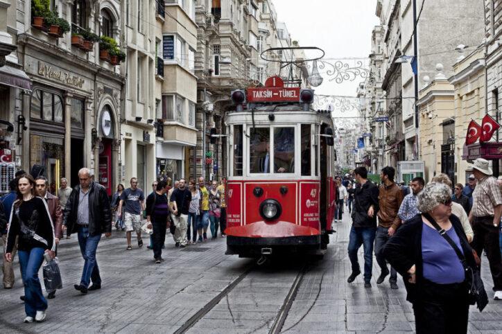 tramway la rue istiklal