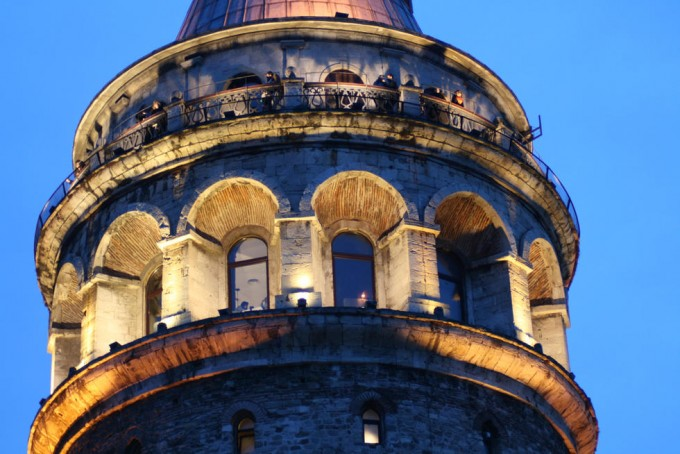 la Tour de Galata à Istanbul