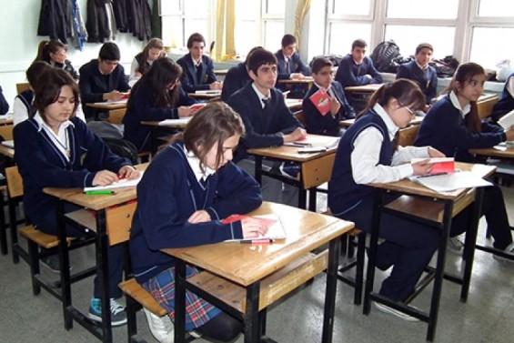 les collégien en Tuquie