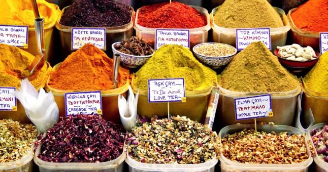 les épices du marché istanbul