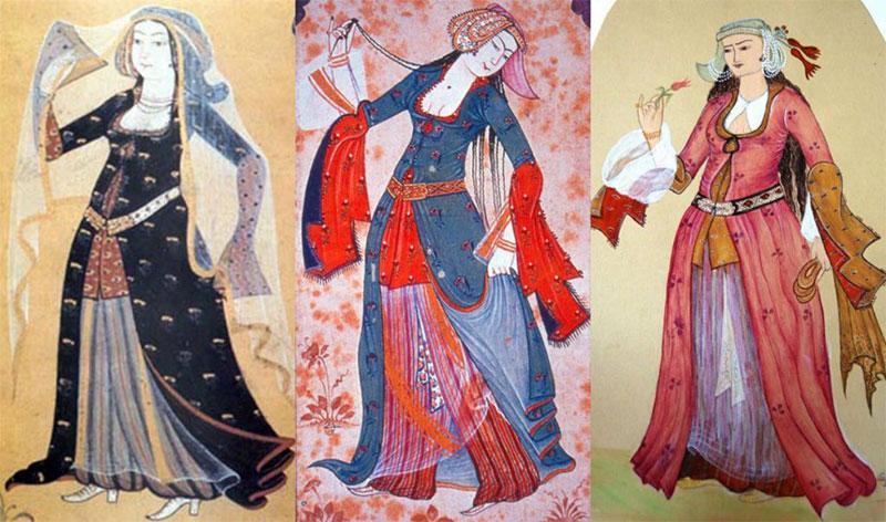 Comment les femmes ottomane s'habillaient? Istanbul