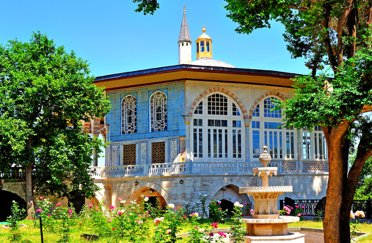 pavillon de bagdad, le Palais de topkapi