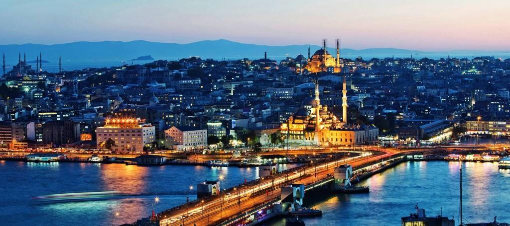 Le Pont De Galata à la corne d'or, Istanbul