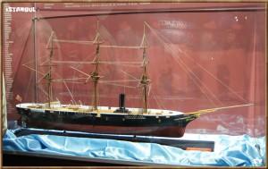 Le musée de la marine d'ISTANBUL