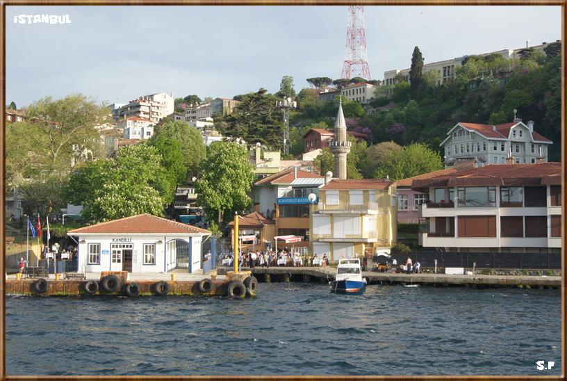 Le Quartier Kandilli, le Bosphore Istanbul
