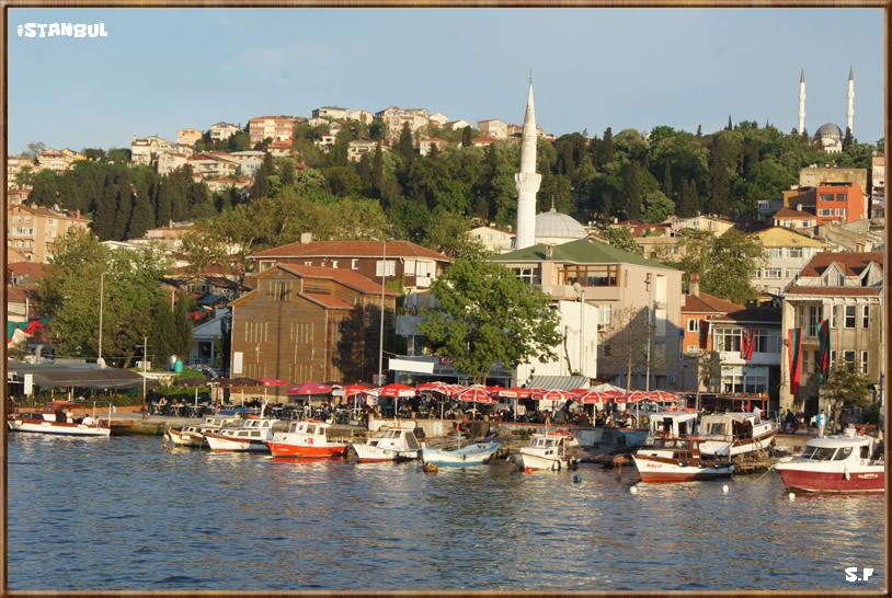 Le Quartier Kucuksu, le Bosphore Istanbul