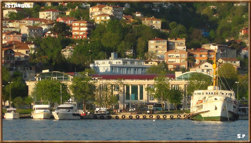 Le Quartier De Kuzguncuk, le Bosphore Istanbul