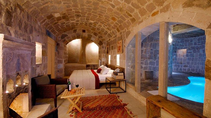 Troglodytique Hotel Cappadoce Turquie