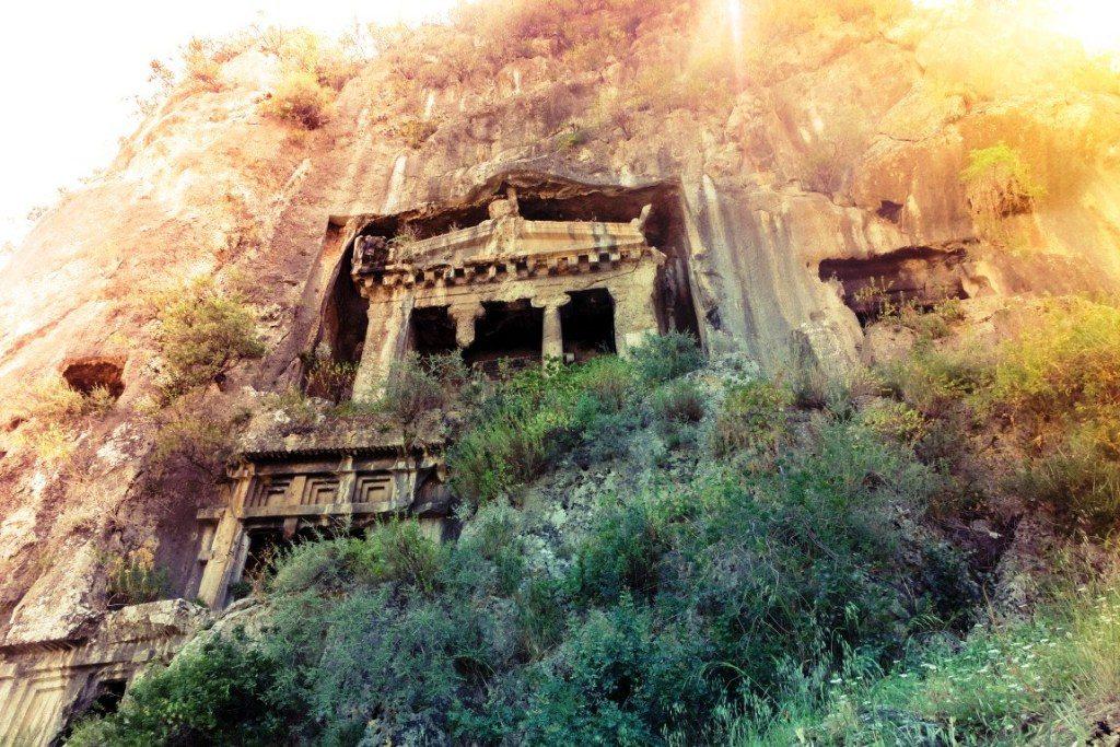 les tombeaux lyciennes