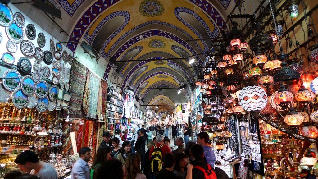 grand bazar Istanbul - week end istanbul
