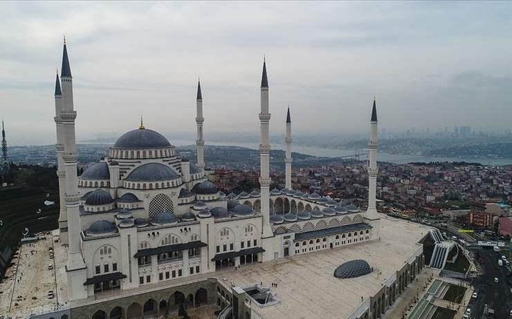 Mosquée de Camlica, la plus grande mosquée de Turquie - l'appel à la prière en Turquie