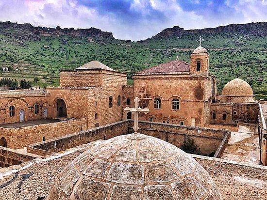 monastère assyrien à Mardin