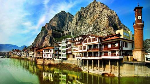 lieux à visiter amasya