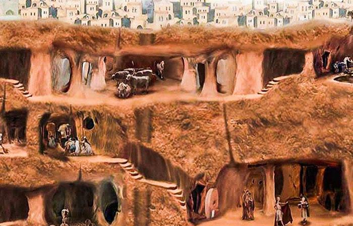 Derinkuyu la ville souterraine - 10 meilleures activités Cappadoce