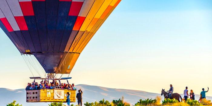 le vol en montgolfière en Cappadoce - 10 meilleures activités Cappadoce