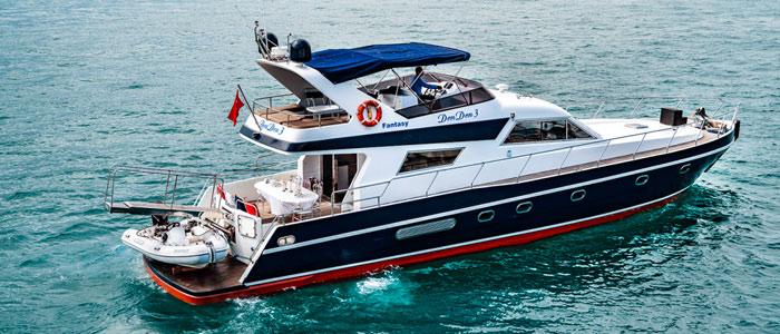 Location de Yacht à Moteur Istanbul