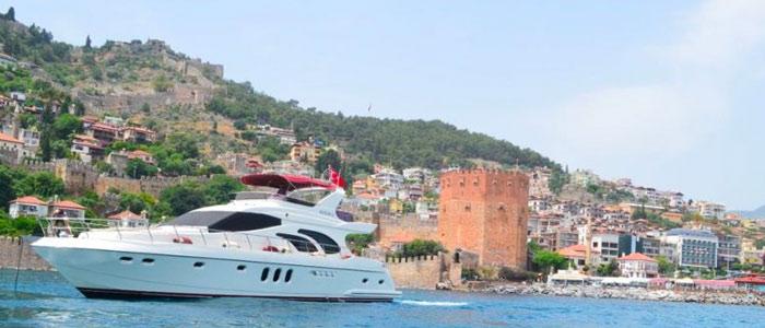 bateau de location alanya