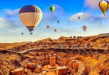 Vol en Montgolfière à Gobeklitepe en Turquie